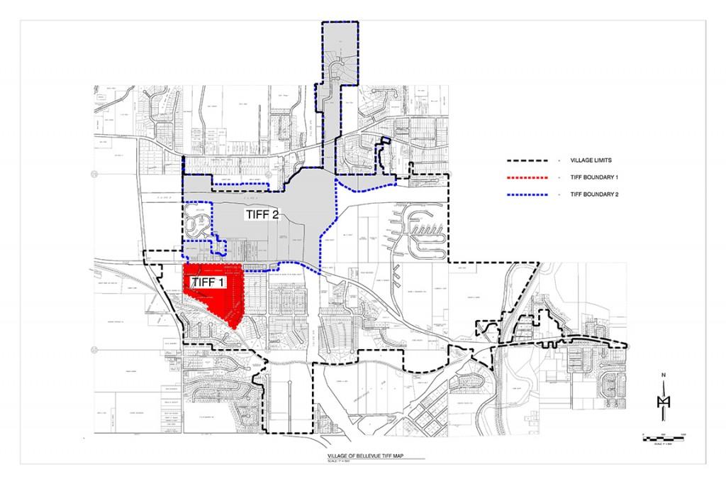 Village of Bellevue Tiff Map
